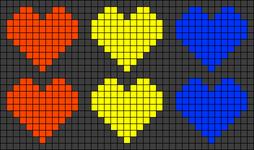 Alpha pattern #24867