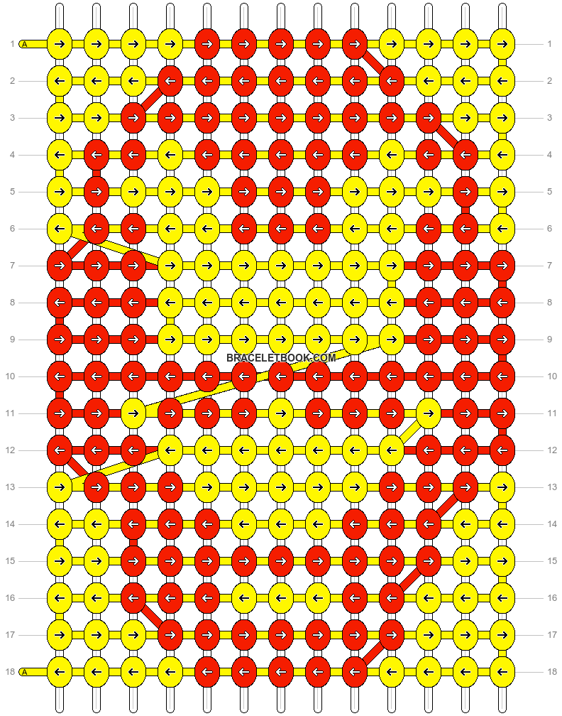 Alpha pattern #24868 pattern