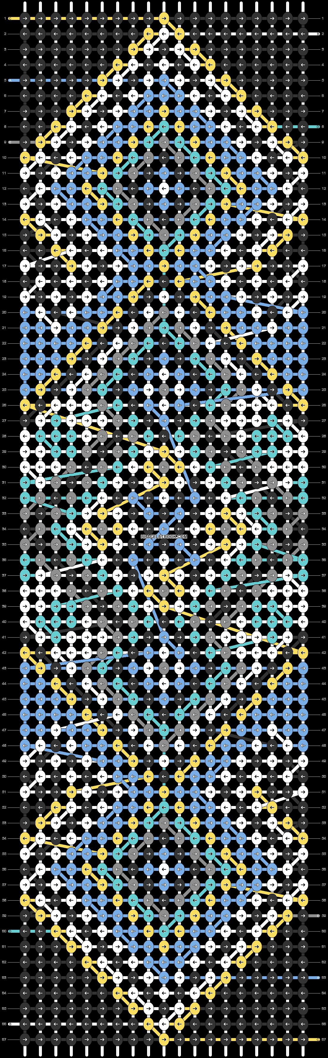 Alpha pattern #24888 pattern