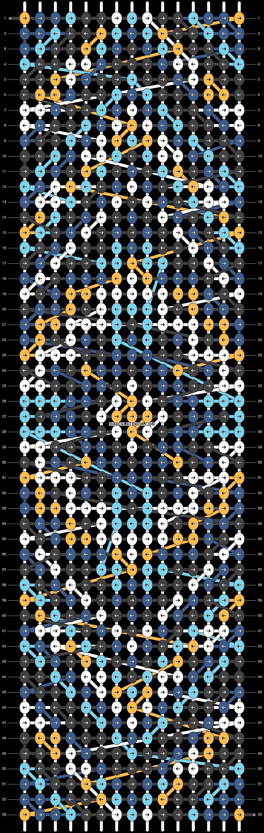 Alpha pattern #24900 pattern
