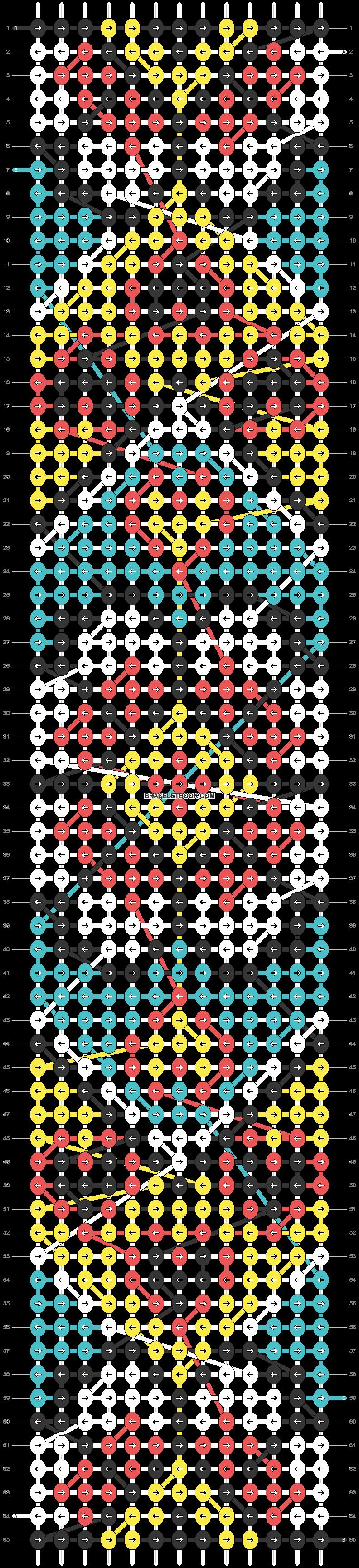 Alpha pattern #24902 pattern