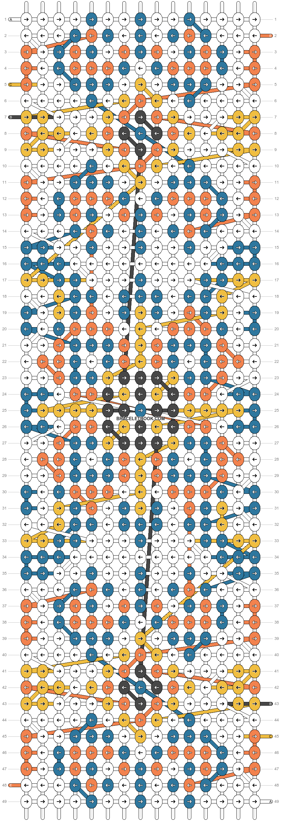 Alpha pattern #24903 pattern