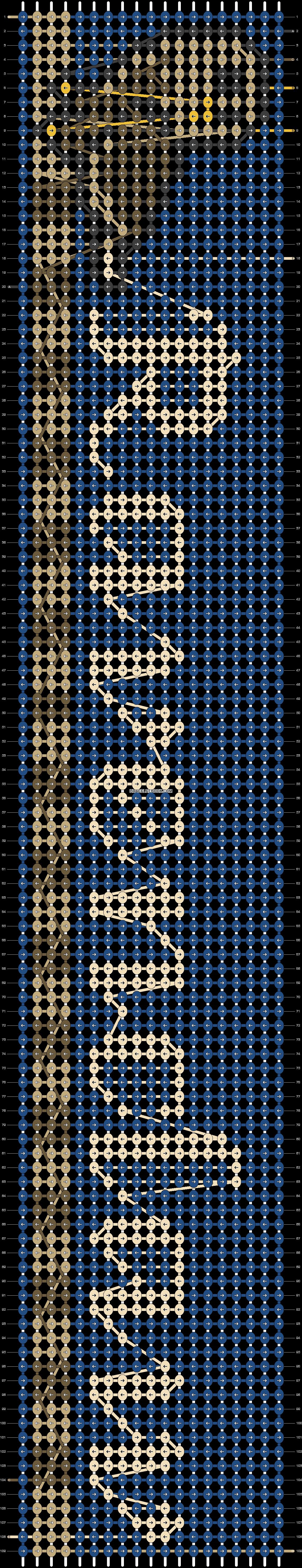 Alpha pattern #24905 pattern