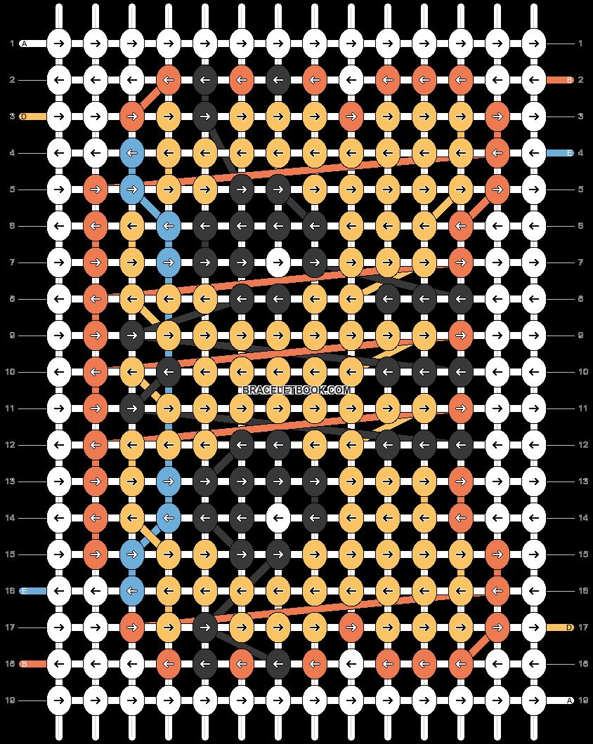 Alpha pattern #24906 pattern