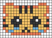 Alpha pattern #24906
