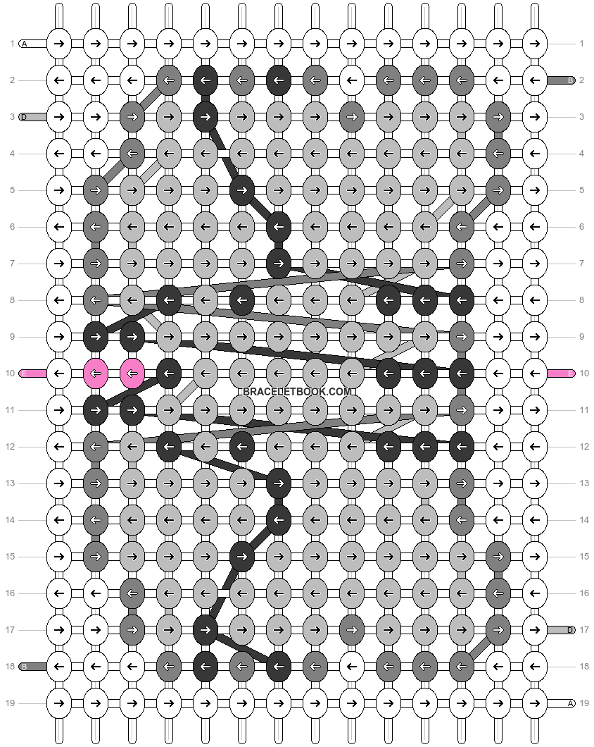 Alpha pattern #24907 pattern