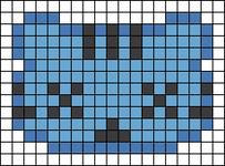 Alpha pattern #24908