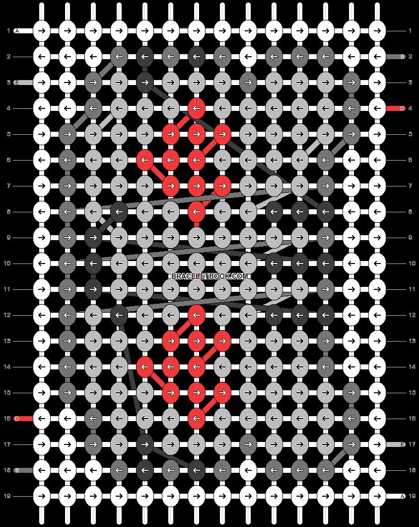 Alpha pattern #24909 pattern