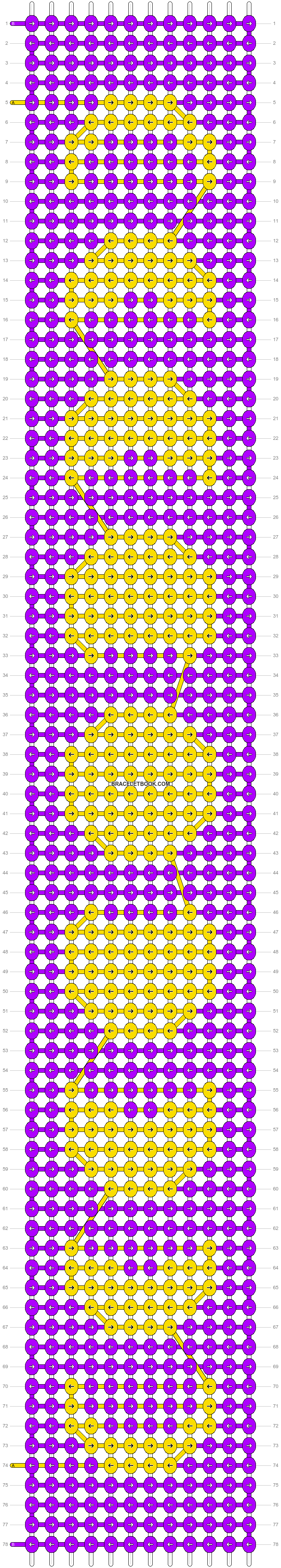 Alpha pattern #24910 pattern