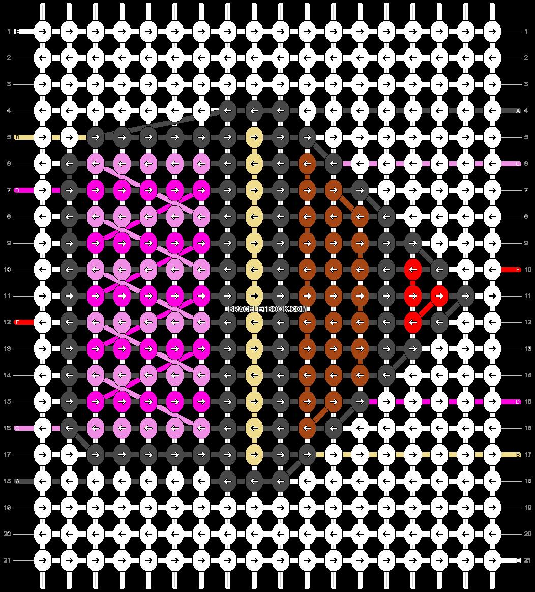 Alpha pattern #24913 pattern