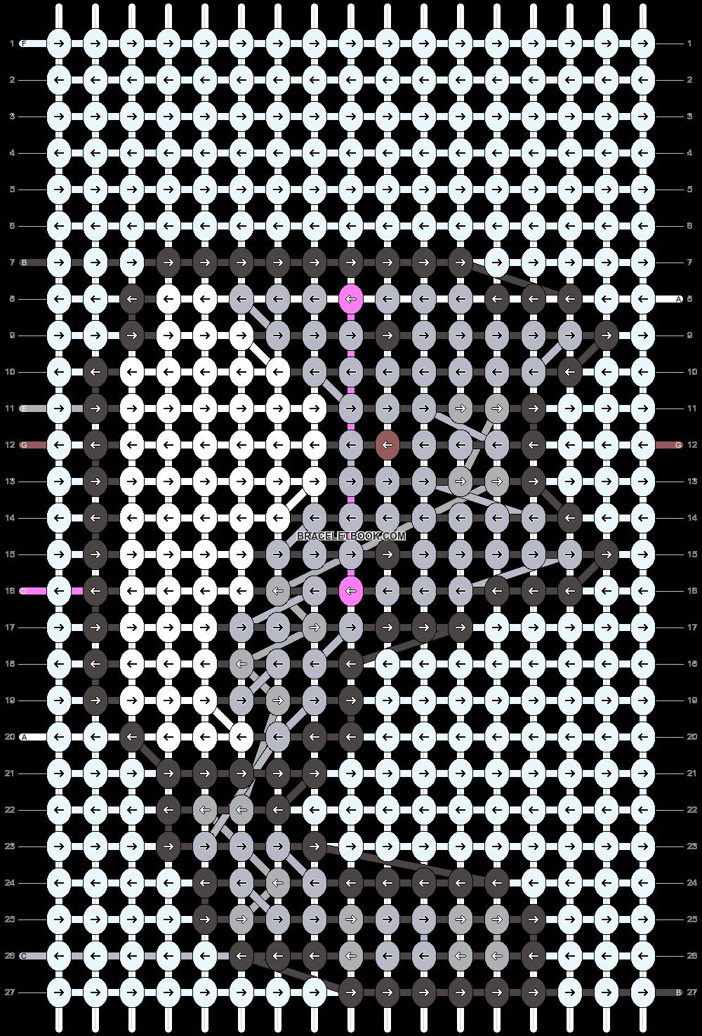 Alpha pattern #24931 pattern