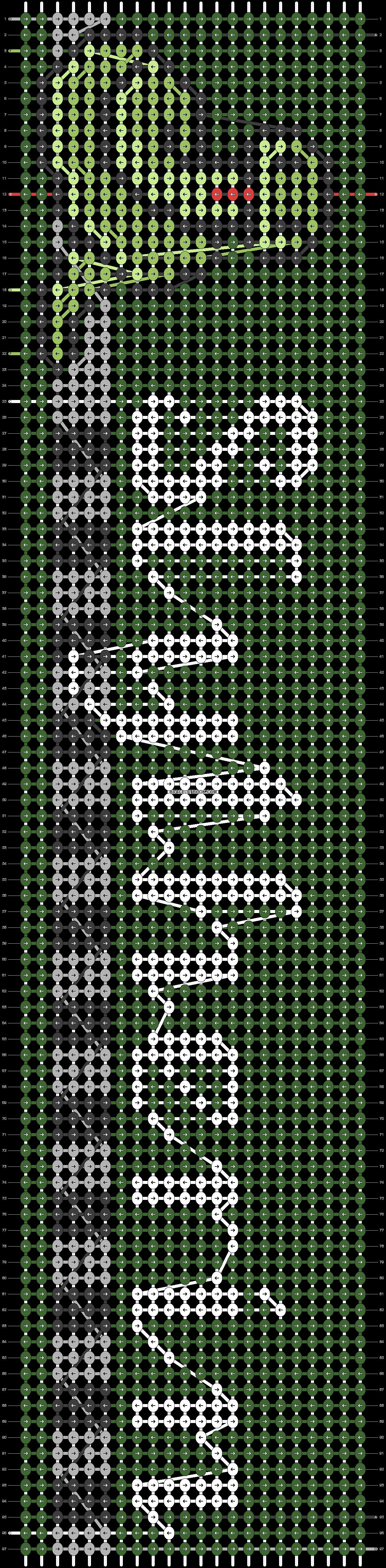 Alpha pattern #24940 pattern