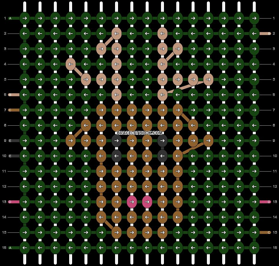 Alpha pattern #24950 pattern