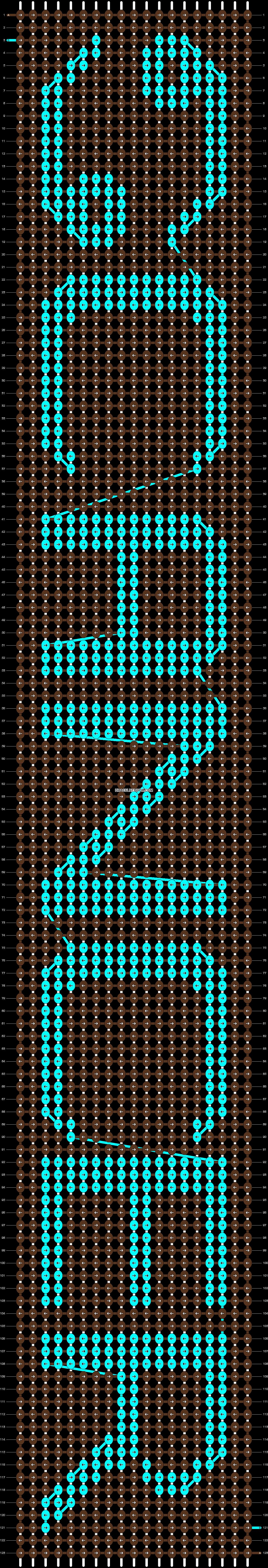 Alpha pattern #24954 pattern