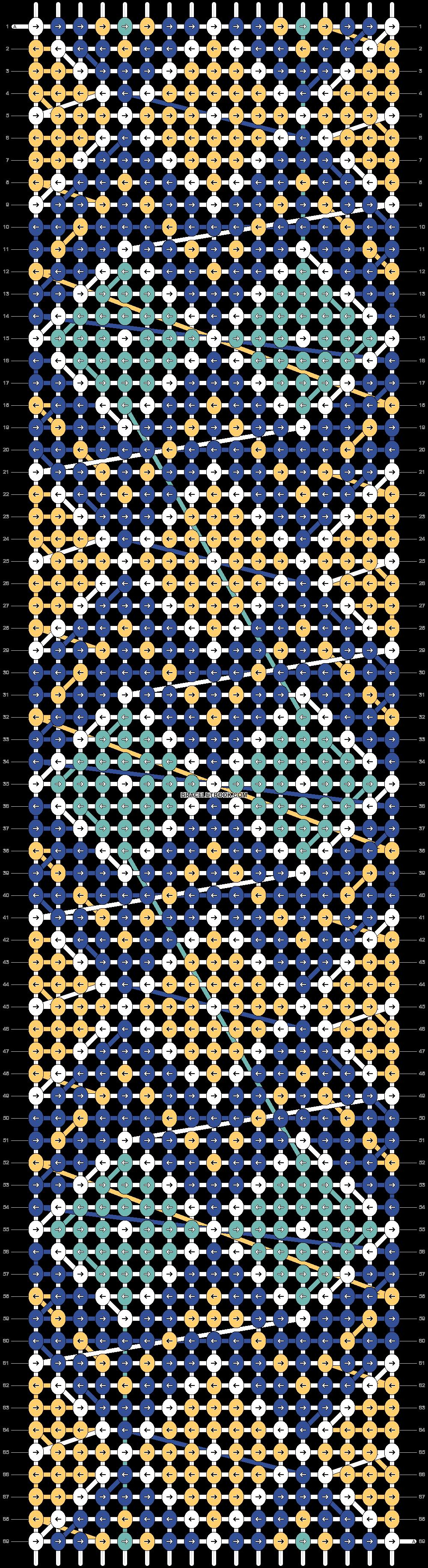 Alpha pattern #24962 pattern