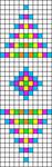 Alpha pattern #24976