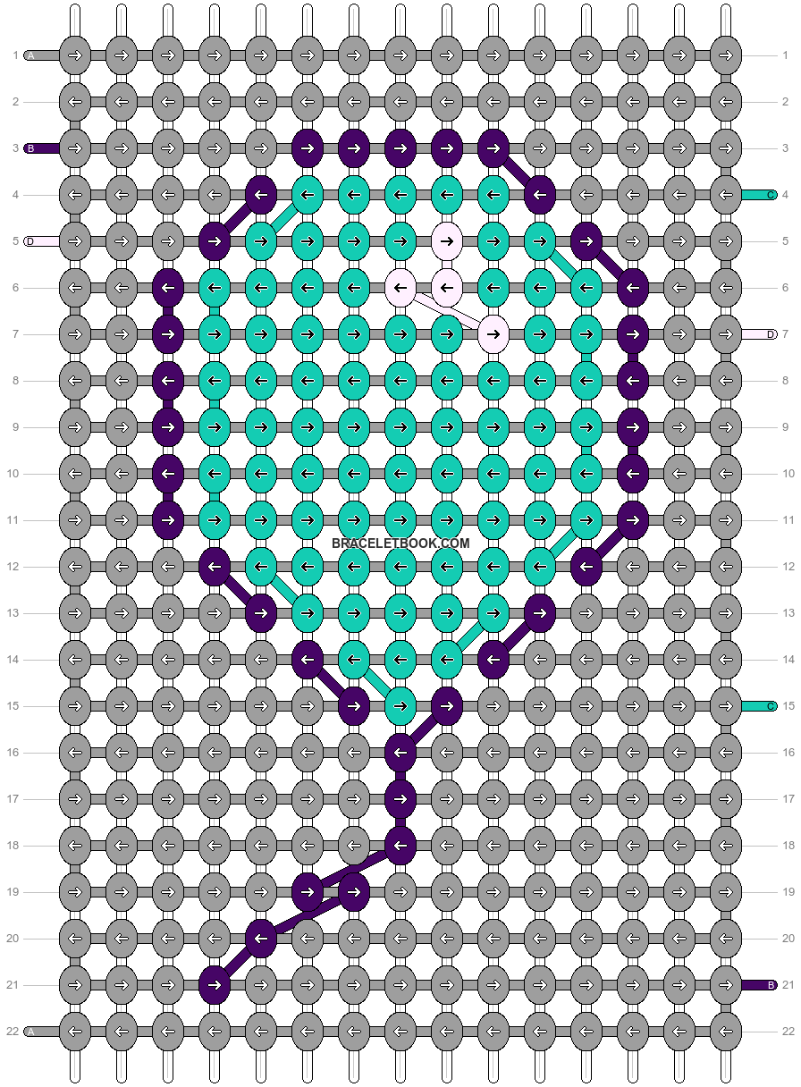 Alpha pattern #24988 pattern