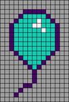 Alpha pattern #24988