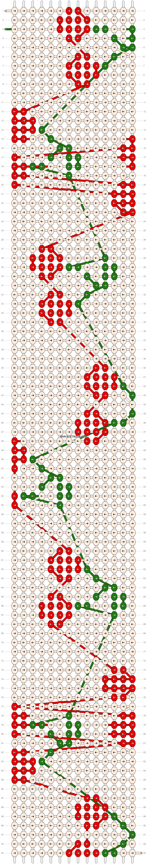 Alpha pattern #25002 pattern