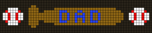 Alpha pattern #25004