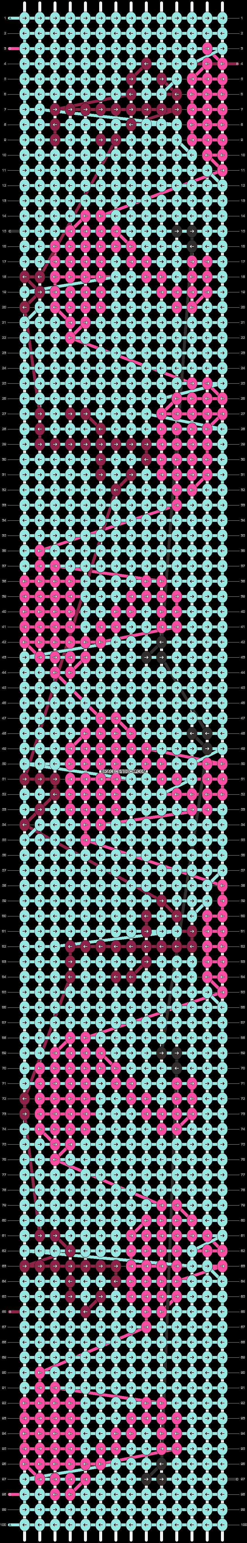 Alpha pattern #25016 pattern