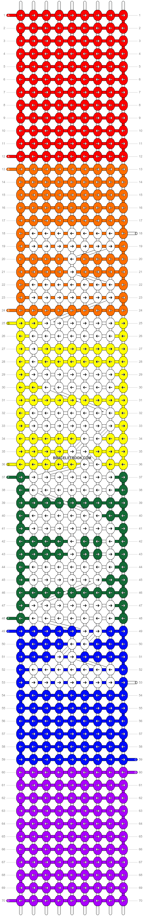 Alpha pattern #25026 pattern
