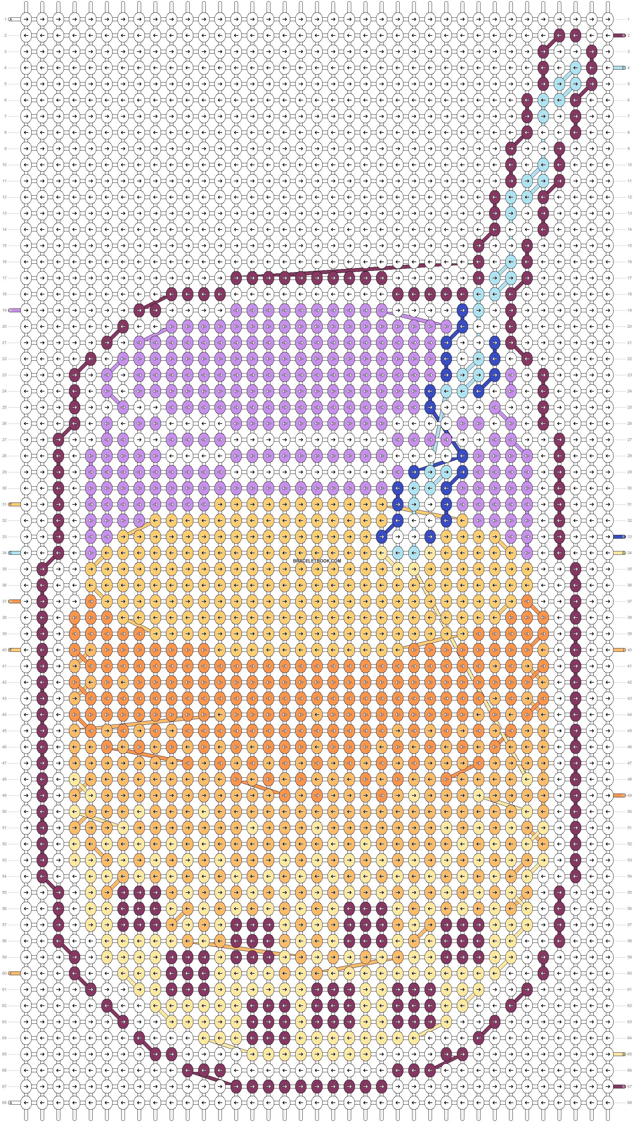 Alpha pattern #25027 pattern