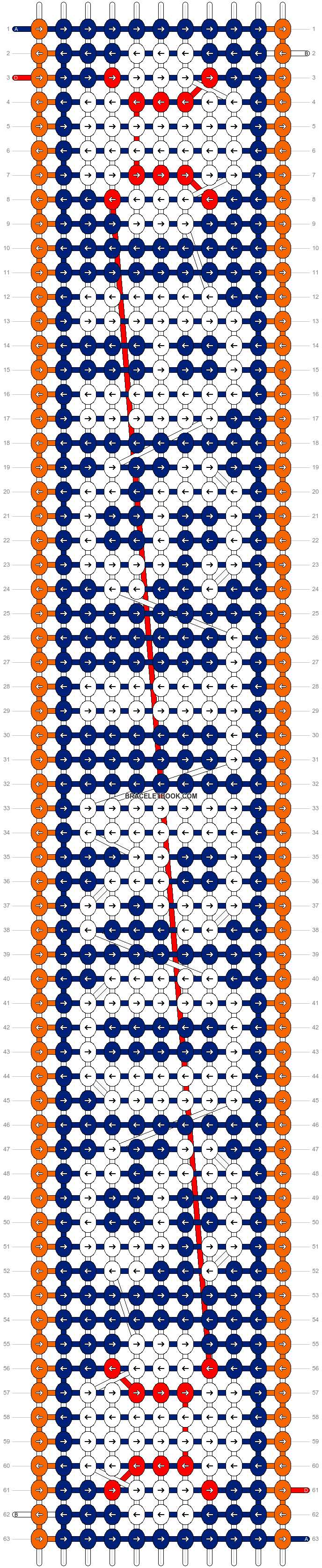 Alpha pattern #25030 pattern