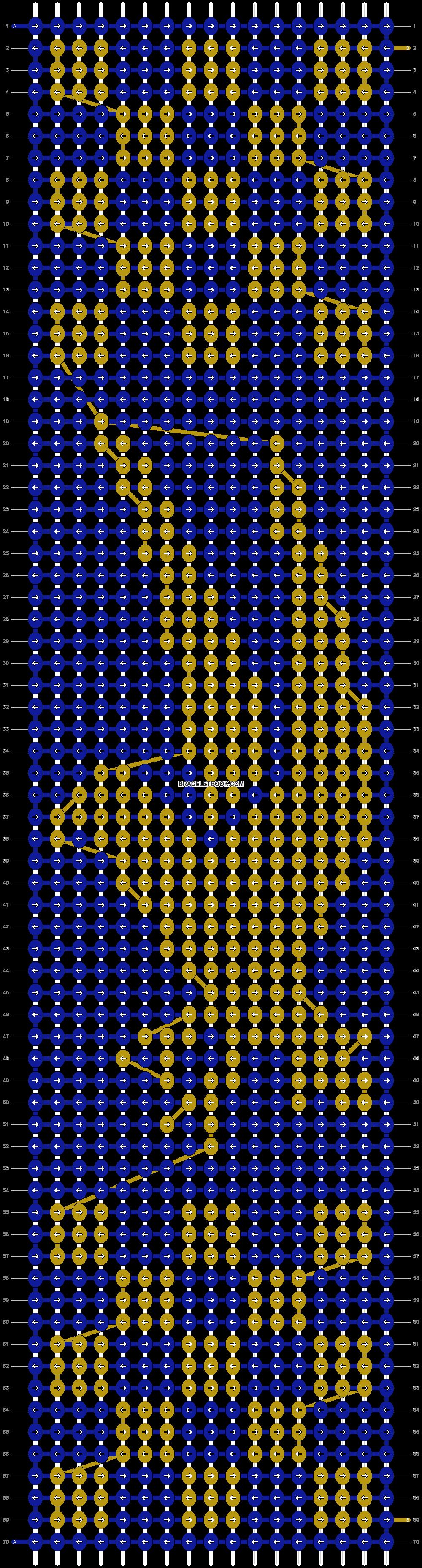Alpha pattern #25046 pattern