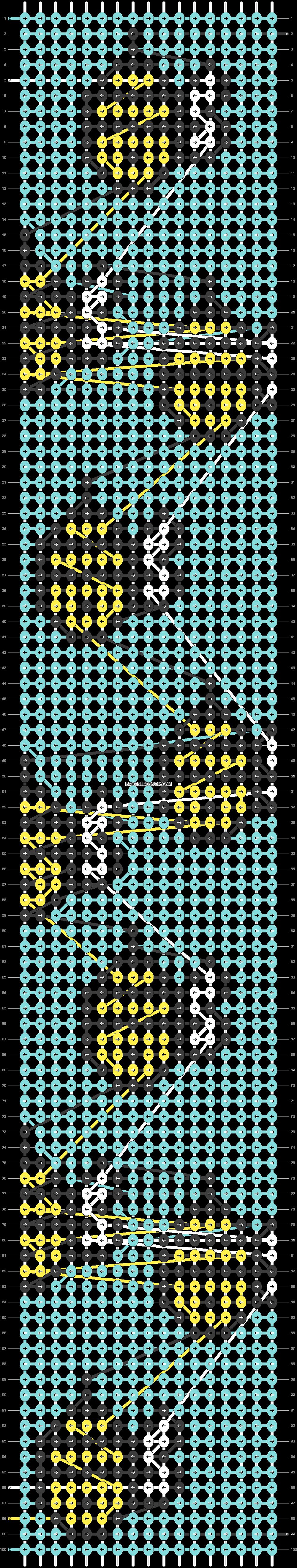 Alpha pattern #25052 pattern