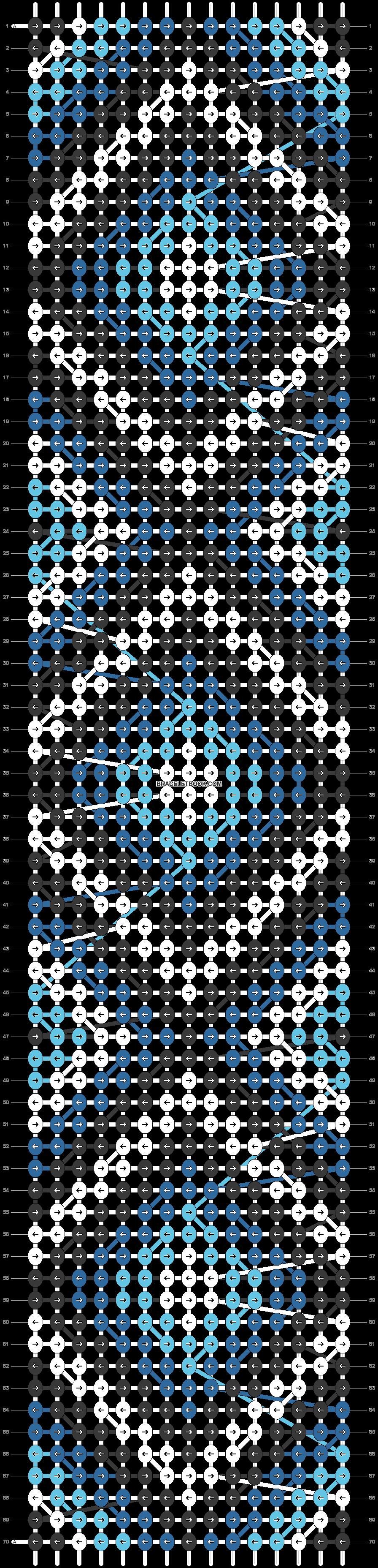 Alpha pattern #25057 pattern
