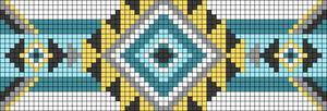 Alpha pattern #25058