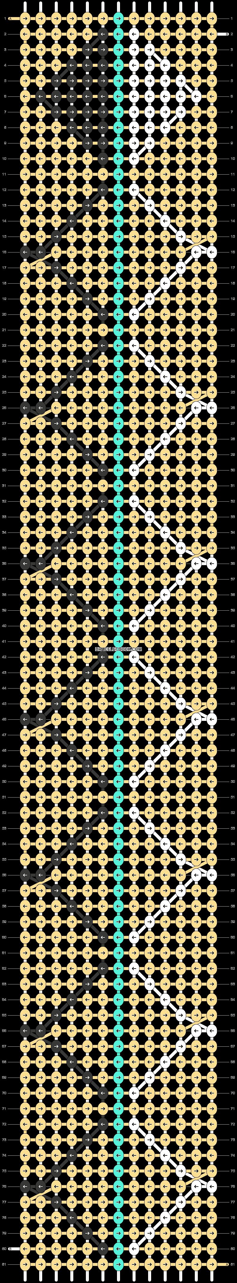 Alpha pattern #25095 pattern