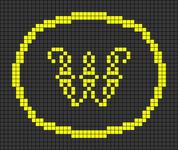 Alpha pattern #25097