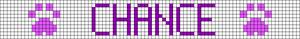 Alpha pattern #25098