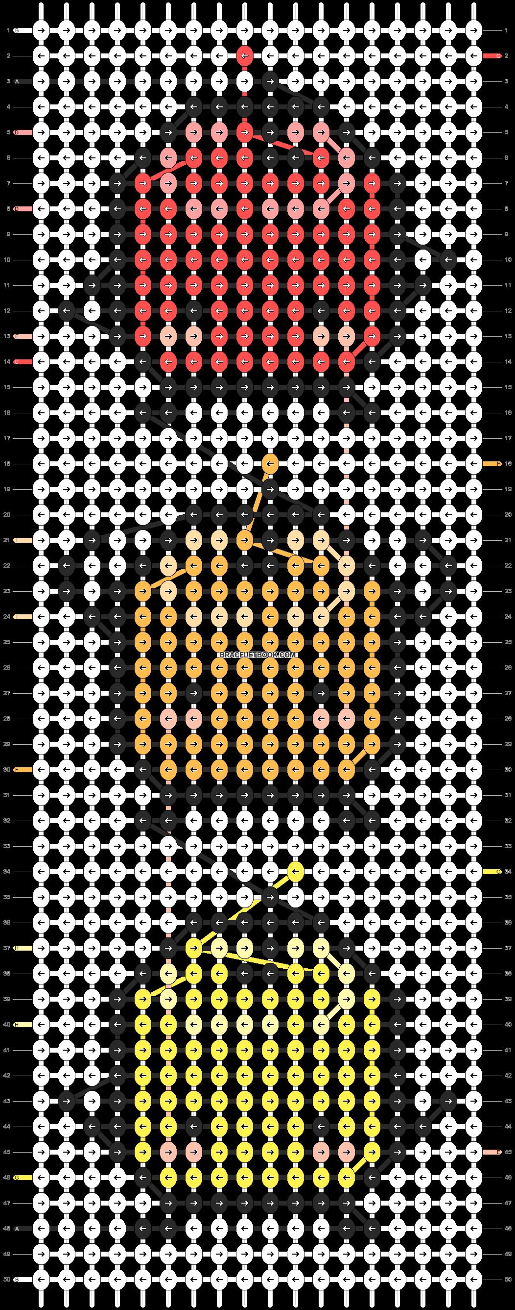 Alpha pattern #25099 pattern
