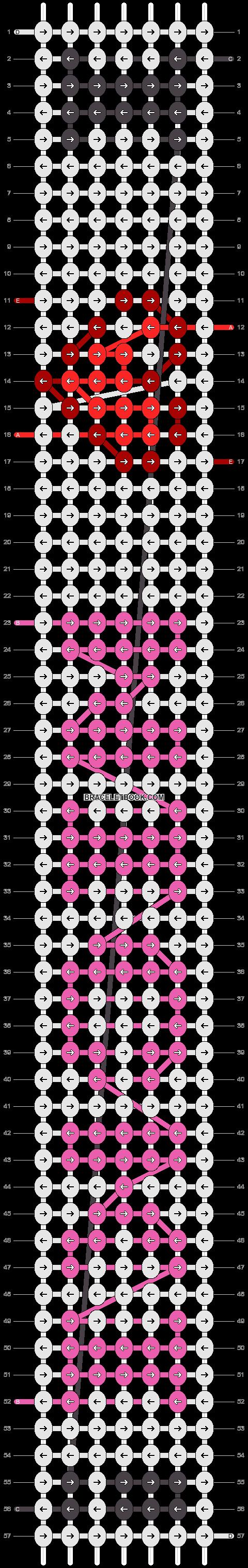 Alpha pattern #25101 pattern