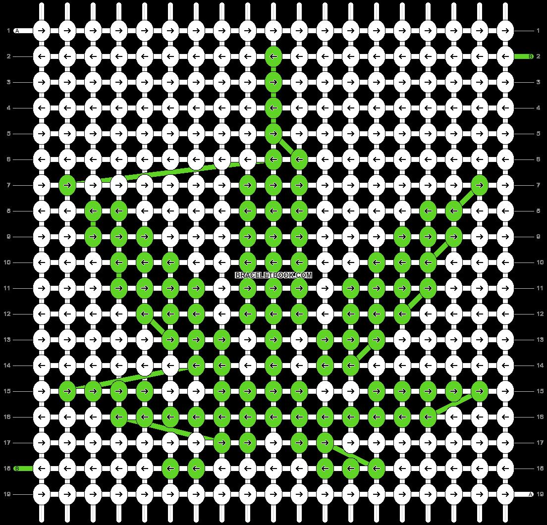 Alpha pattern #25107 pattern