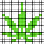 Alpha pattern #25107