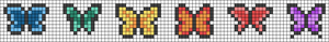 Alpha pattern #25121