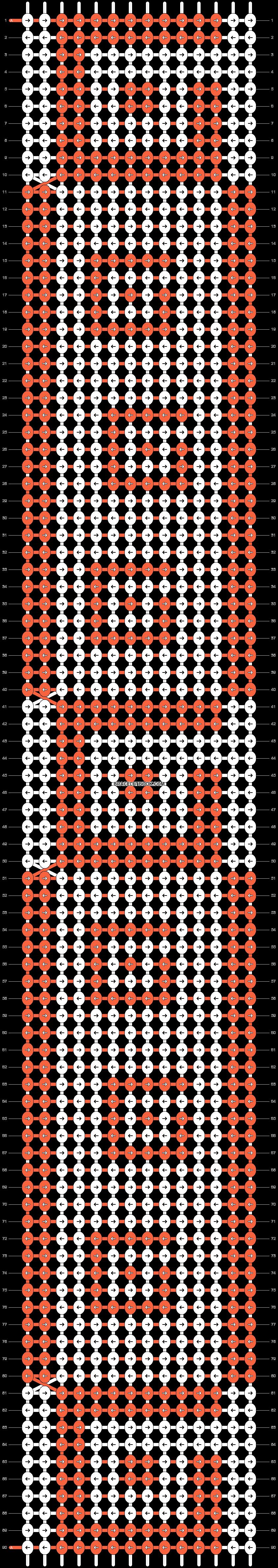 Alpha pattern #25134 pattern