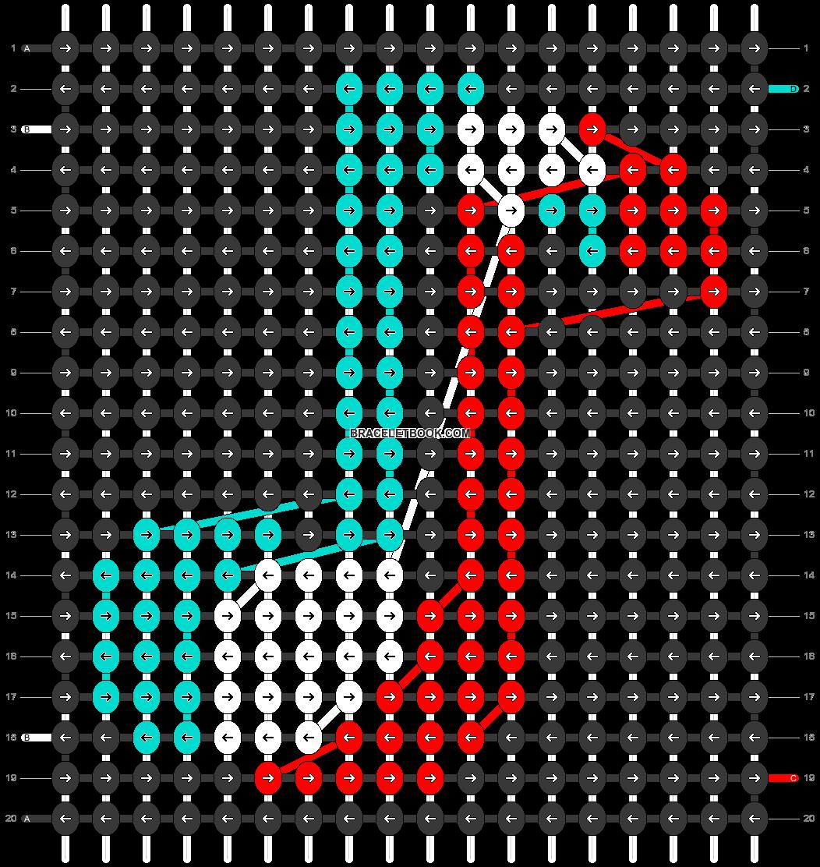 Alpha pattern #25144 pattern