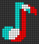 Alpha pattern #25144