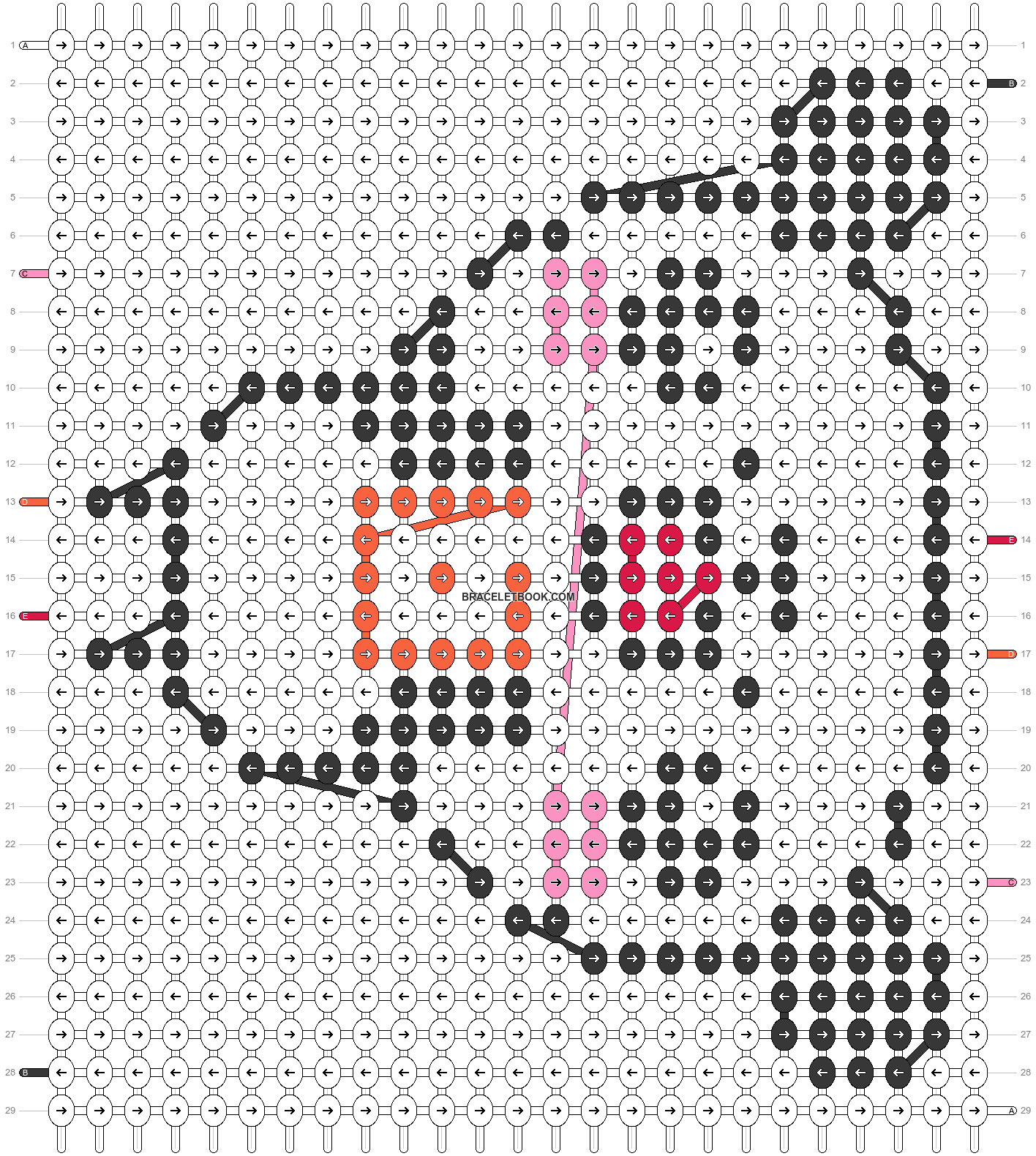Alpha pattern #25145 pattern