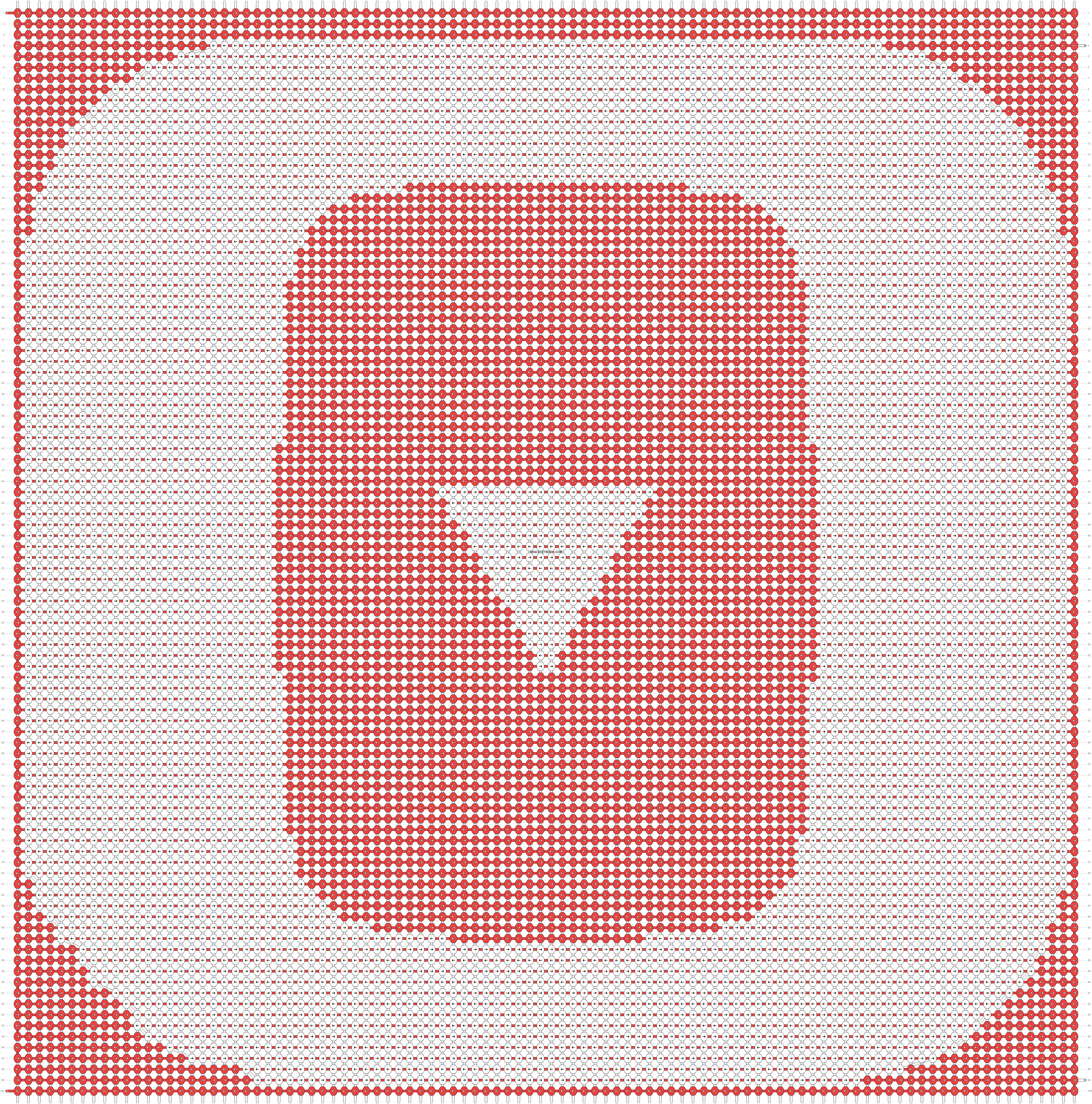 Alpha pattern #25150 pattern