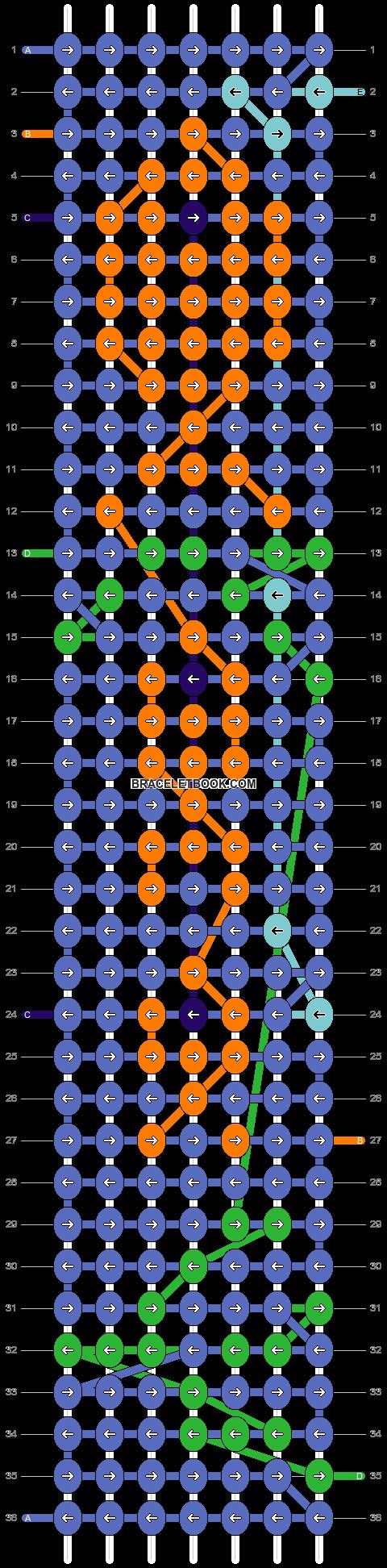 Alpha pattern #25151 pattern
