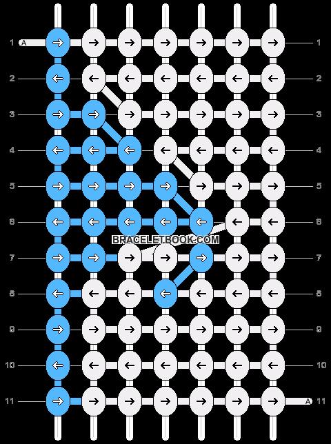 Alpha pattern #25153 pattern