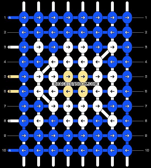 Alpha pattern #25154 pattern