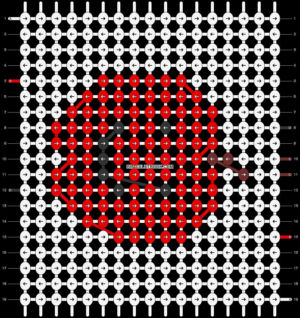 Alpha pattern #25161 pattern