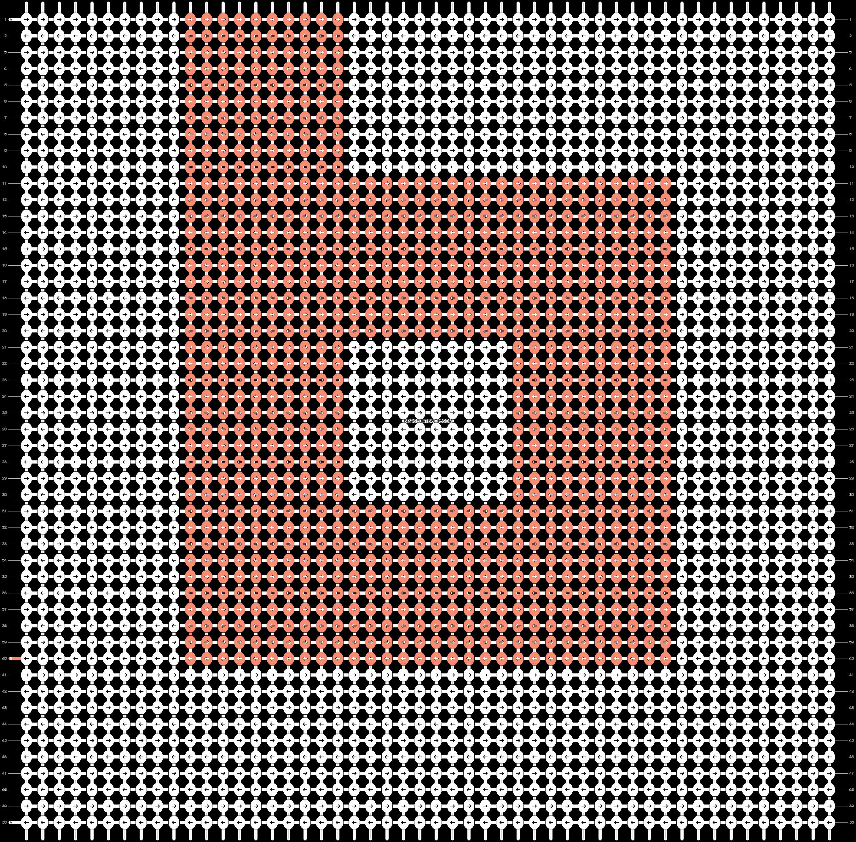 Alpha pattern #25166 pattern